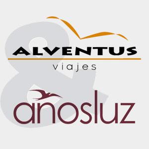 Logo Años Luz y viajes alventus